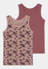 Name it - NMFTANK DECO ROSE FLOWER 2 PACK - Undershirt - deco rose - 0