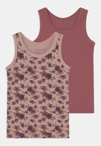 NMFTANK DECO ROSE FLOWER 2 PACK - Undershirt - deco rose
