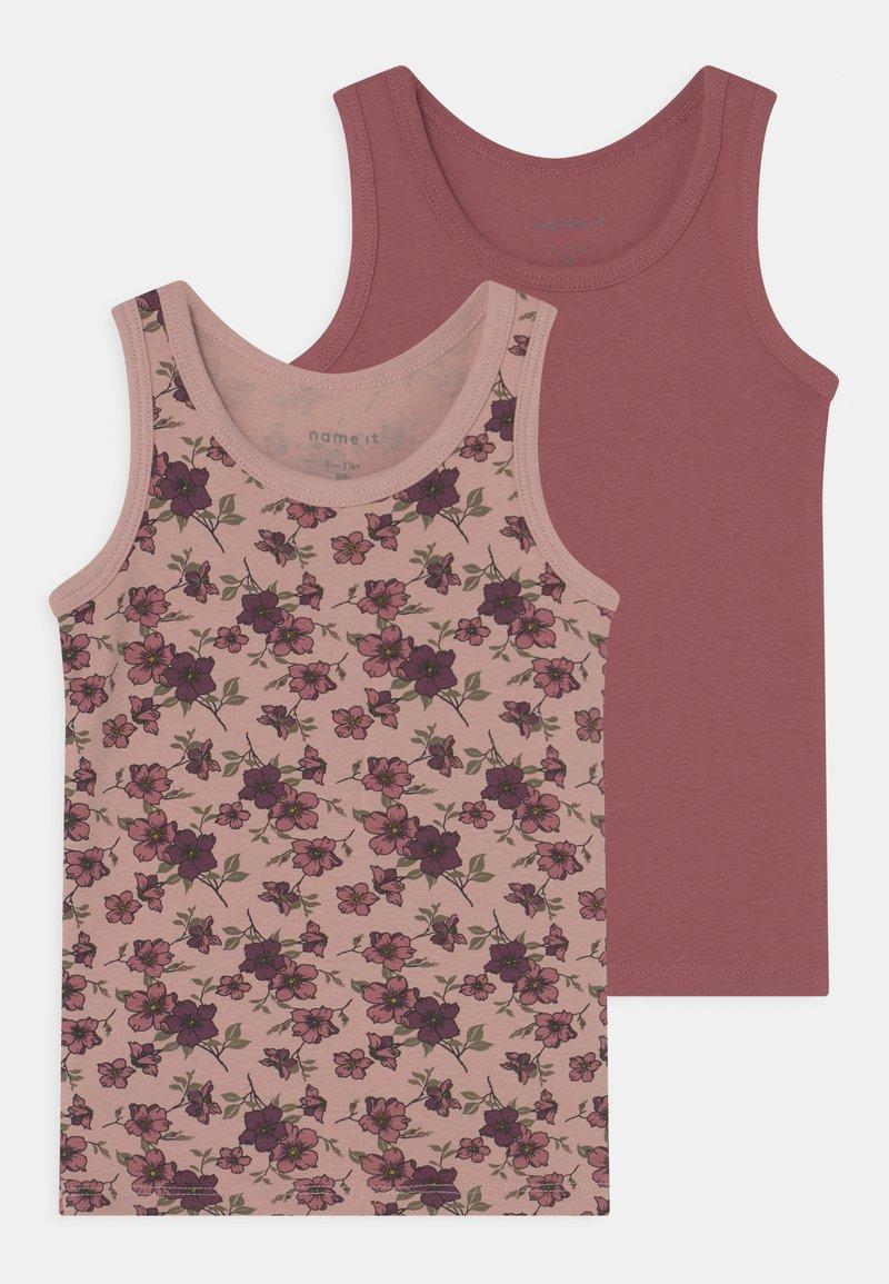Name it - NMFTANK DECO ROSE FLOWER 2 PACK - Undershirt - deco rose