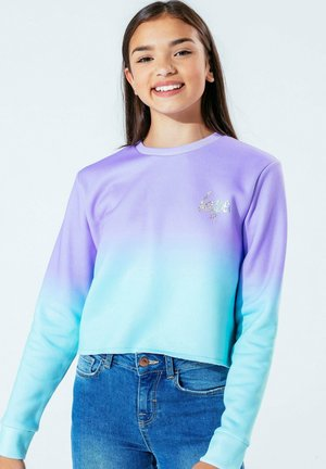 Sweatshirt - purple/green