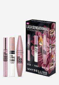Maybelline New York - LASH SENSATIONAL MAKE-UP SET - Makeup set - very black - 0