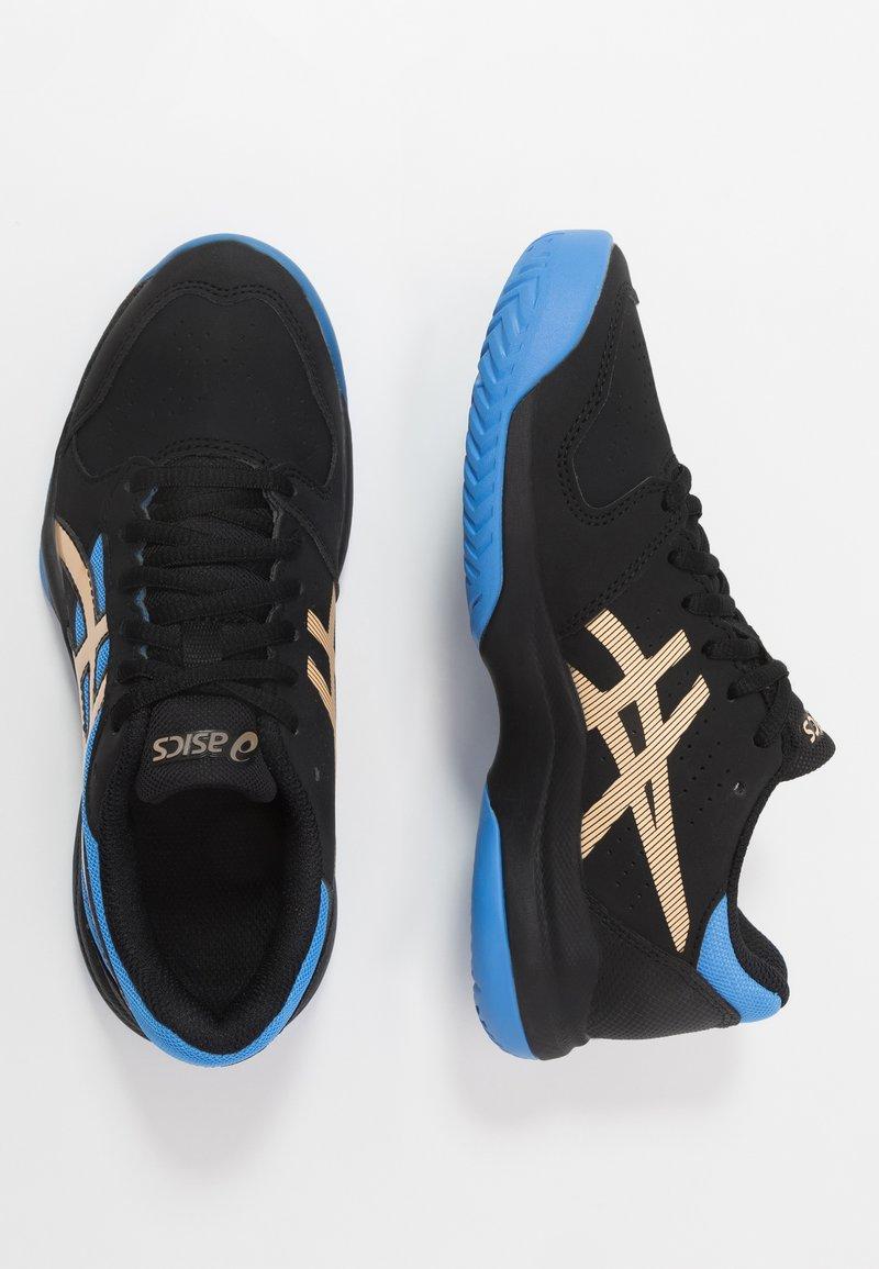 ASICS - GEL-GAME - Zapatillas de tenis para tierra batida - black/champagne