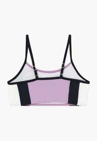 Abercrombie & Fitch - COLORBLOCK - Bikini top - lilac - 1