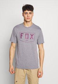 Fox Racing - SHIELD TECH TEE - T-Shirt print - grey - 0