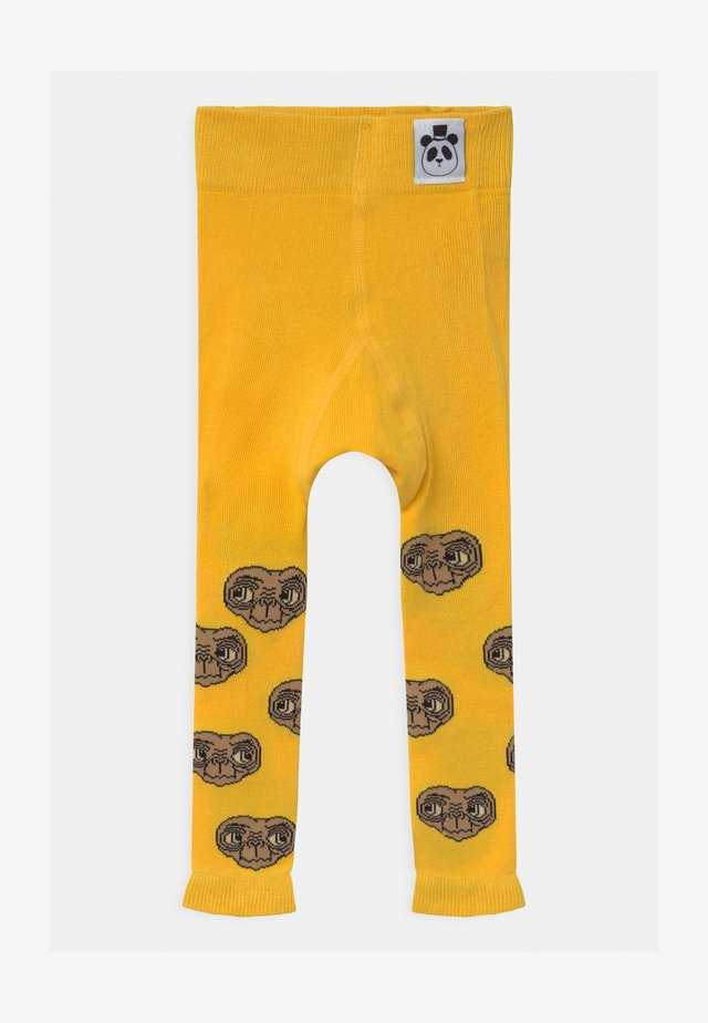 E.T. UNISEX  - Leggings - yellow