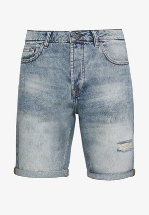 ONSAVI LOOSE  - Jeans Short / cowboy shorts - blue denim