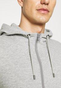 s.Oliver - Zip-up sweatshirt - grey melange - 5