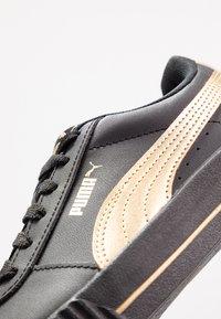 Puma - CARINA META20 - Sneaker low - black/team gold - 2