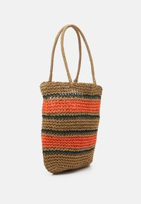 Pieces - PCLEONA SHOPPER - Tote bag - coral - 1
