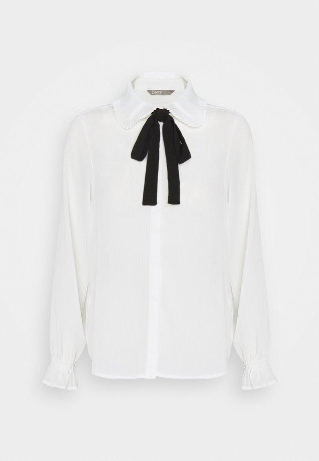 ONLGERRY - Button-down blouse - cloud dancer