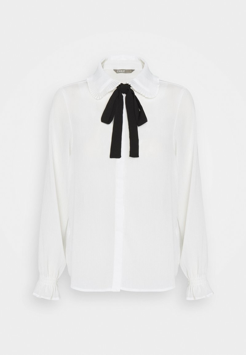 ONLY - ONLGERRY - Button-down blouse - cloud dancer