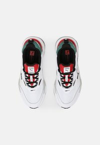 Puma - RS-FAST MIX  - Sneakers laag - white/black/blue spruce - 3
