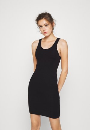 DRESS - Etuikjole - black