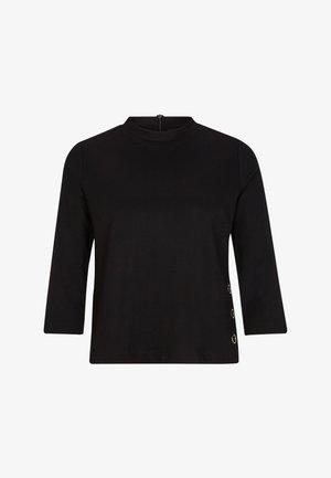 PONTE  - Long sleeved top - black