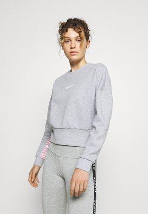 ABBY - Sweatshirt - light melange grey