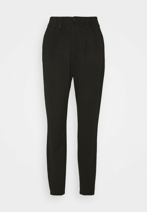 PANTS - Trousers - black