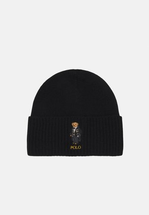 HOLIDAY BEAR HAT - Beanie - black