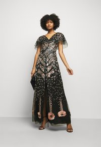 Temperley London - CANDY LONG DRESS - Occasion wear - black mix