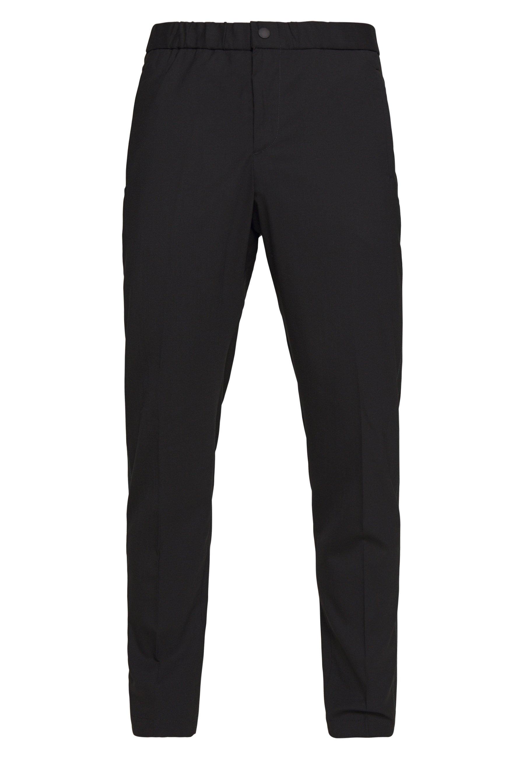 PS Paul Smith MENS ELASTICATED WAIST TROUSER - Pantalon classique - black