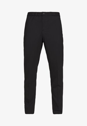 MENS ELASTICATED WAIST TROUSER - Stoffhose - black