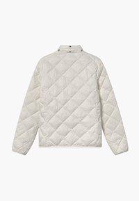 GANT - THE WEIGHT DIAMOND PUFFER - Winter jacket - eggshell - 2