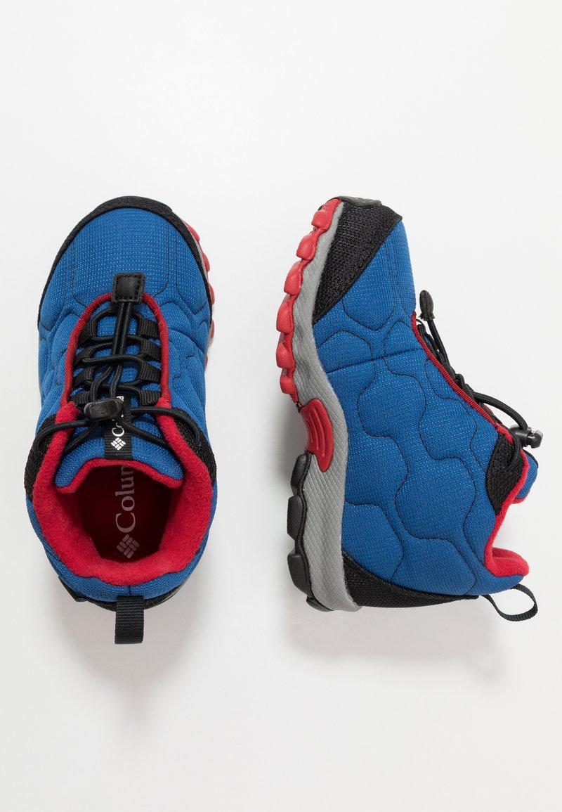 Columbia - FIRECAMPMID - Hiking shoes - royal/ rocket