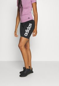 adidas Performance - SHORT - Tights - black/white - 0