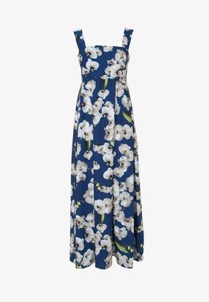 TOSCANA - Długa sukienka - blau, hellbraun