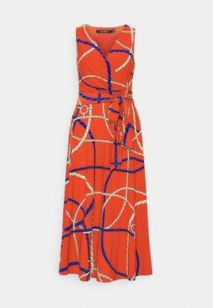 CARANA SLEEVELESS DAY DRESS - Denní šaty - hibiscus/lighthouse navy