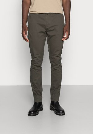 PANTS MAN - Chinos - dark khaki