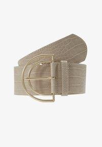 Pieces - PCBENEDICTE WAIST BELT - Midjebelte - beige/gold-coloured - 1