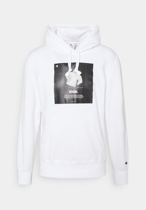 GRAPHIC SHOP HOODED - Sweatshirt - white