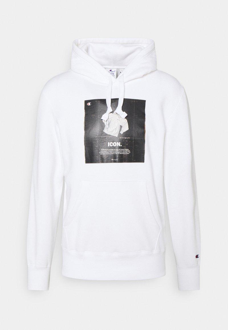 Champion Rochester - GRAPHIC SHOP HOODED - Sweatshirt - white