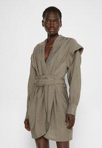 Iro - KOYU - Jersey dress - grey - 0