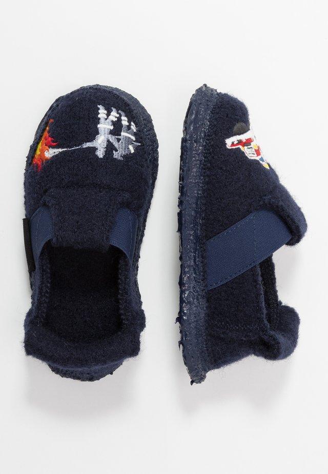 FEUERWEHR - Pantofole - dunkelblau