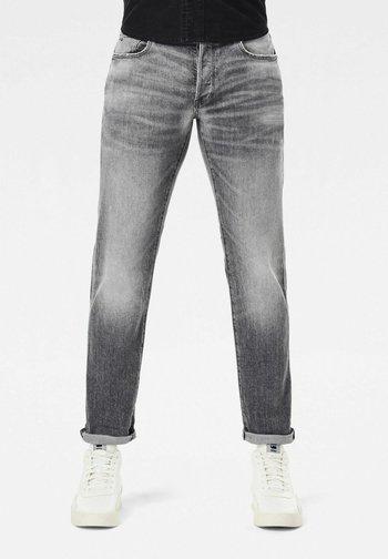 3301 SLIM - Slim fit -farkut - grey denim