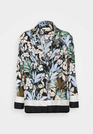 CIONI - Button-down blouse - jungle noir
