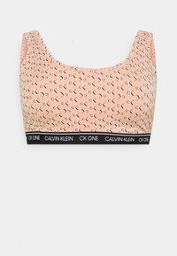 Calvin Klein Underwear - ONE UNLINED BRALETTE PLUSE SIZE - Bustier - strawb champagne - 0