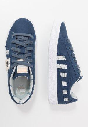 BASKET T4C - Sneakers laag - dark denim/plein air