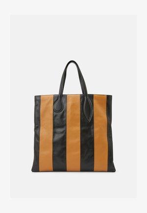 SPROUT TOTE - Tote bag - black/tan