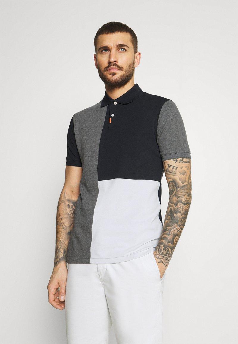 Nike Golf - Polo shirt - black/charcoal heathr/dark grey