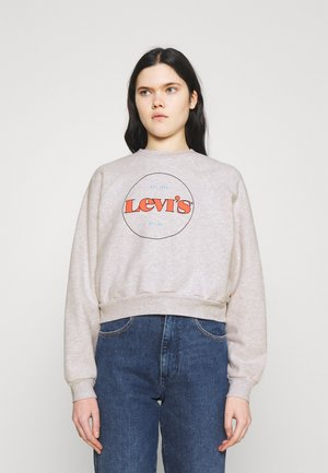 VINTAGE CREW - Felpa - heather gray