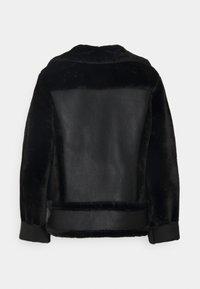 Topshop - MIX BIKER - Bunda zumělé kůže - black - 7