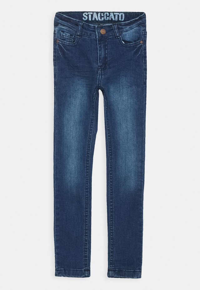 TEENAGER - Jeans Skinny Fit - mid blue denim