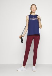 Tommy Sport - PRINTED TANK - Sports shirt - blue - 1