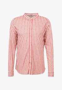 DESOTO - Shirt - red  linen stripe - 1