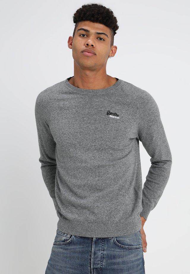 Pullover - ash grey grit