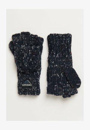 GRACIE - Fingerless gloves - boston navy tweed