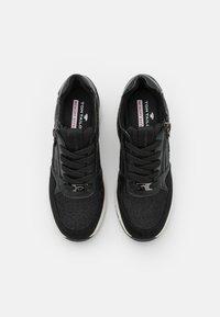TOM TAILOR - Sneakers laag - black - 5