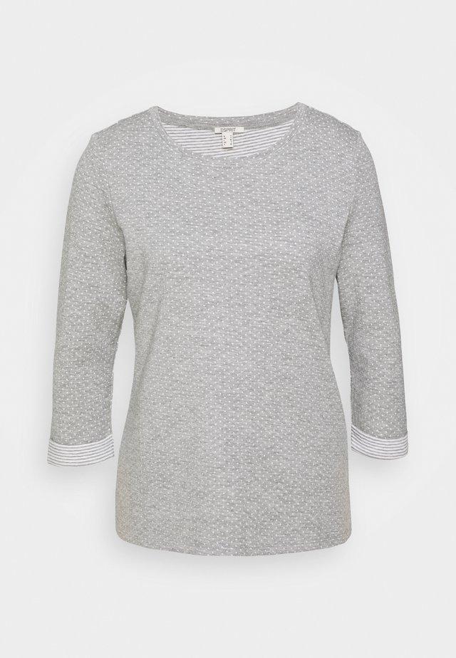 Maglietta a manica lunga - light grey